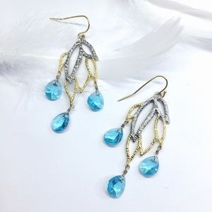 NWOT Alexis Bittar crystal earrings